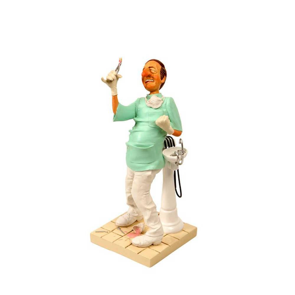 Estatueta O Dentista em Resina de Guillermo Forchino - 40x17 cm