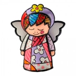 Estatueta Mini Angel - Romero Britto - em Resina - 7x5 cm