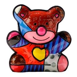 Estatueta Mini Love Bear - Romero Britto - em Resina