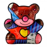 Estatueta Mini Love Bear - Romero Britto - em Resina - 6x5 cm