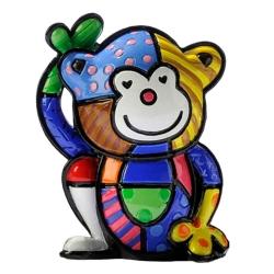 Estatueta Mini Monkey - Romero Britto - em Resina