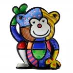 Estatueta Mini Monkey - Romero Britto - em Resina - 7x4 cm