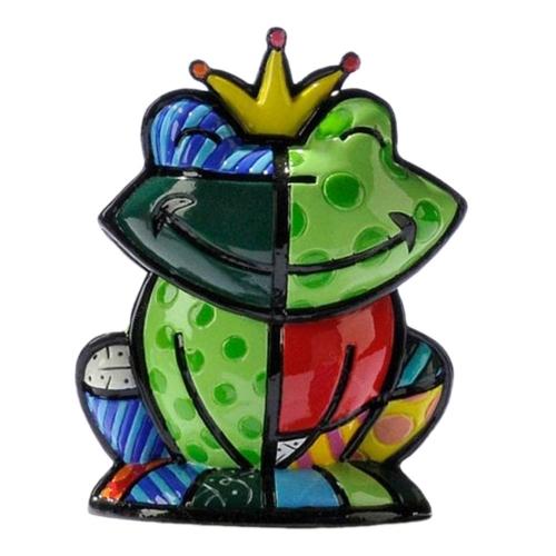 Estatueta Mini Prince Charming - Romero Britto - em Resina - 5x5 cm