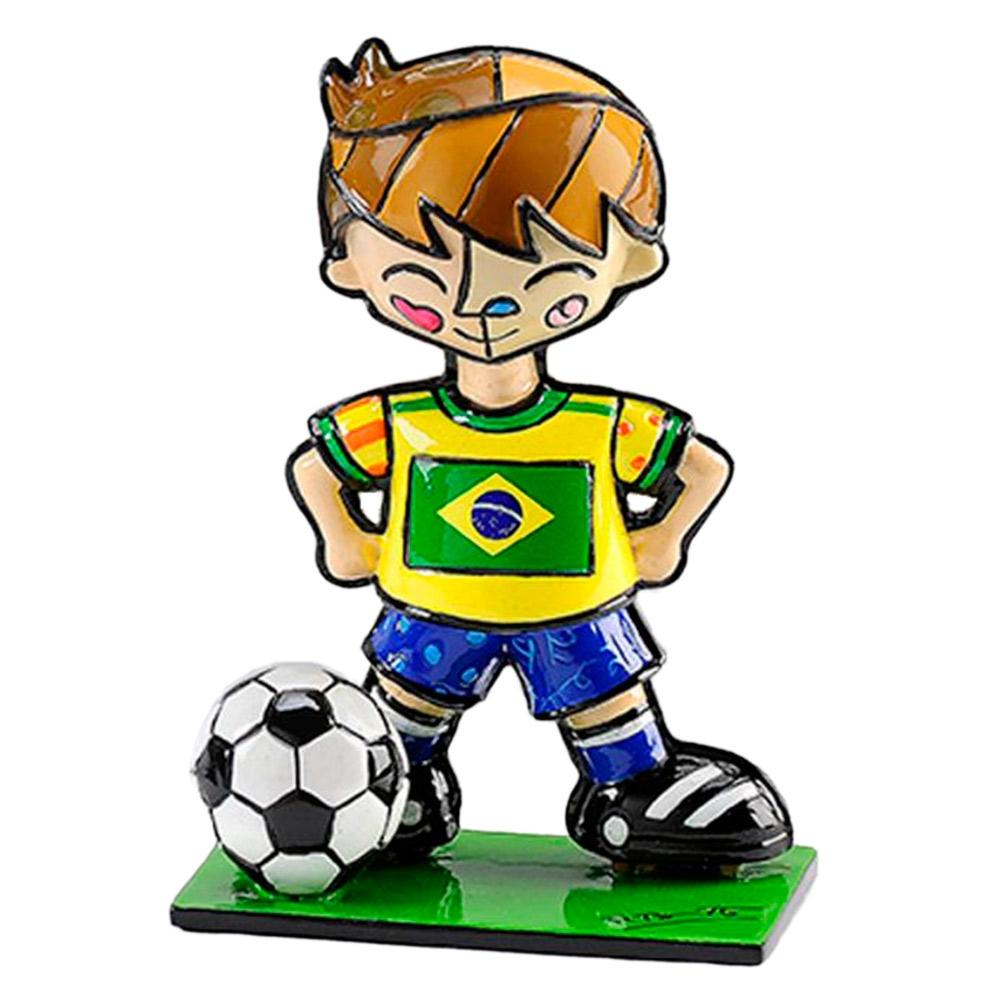 Estatueta Mini World Cup Brazil em Resina - 7x5 cm