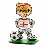 Estatueta Mini World Cup England em Resina