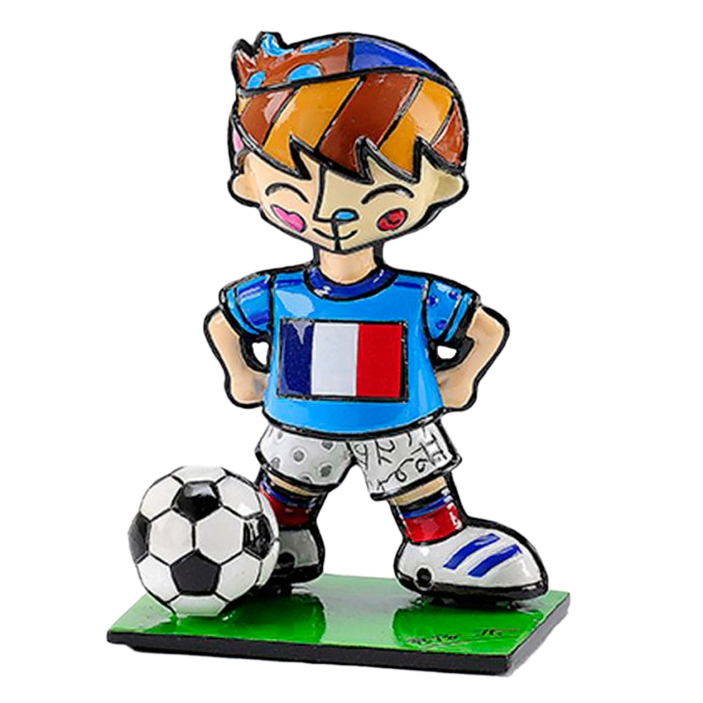 Estatueta Mini World Cup France em Resina - 7x5 cm