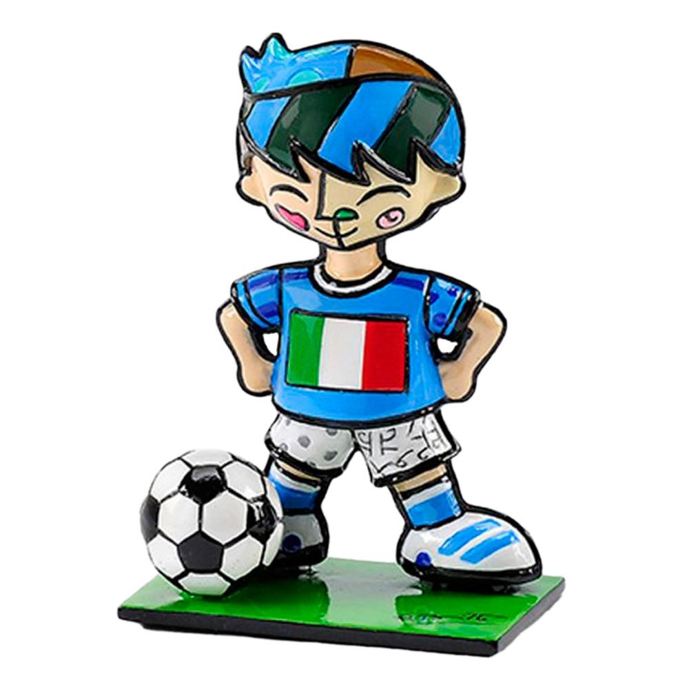 Estatueta Mini World Cup Italy em Resina - 7x5 cm