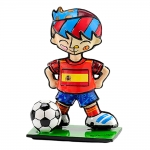 Estatueta Mini World Cup Spain em Resina - 7x5 cm