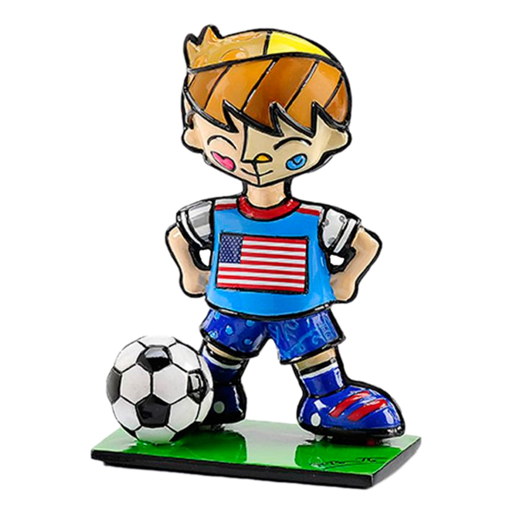 Estatueta Mini World Cup USA em Resina - 7x5 cm