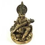 Estatueta/Miniatura Deusa Saraswati