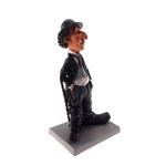Estatueta/Caricatura Charlie Chaplin em Resina