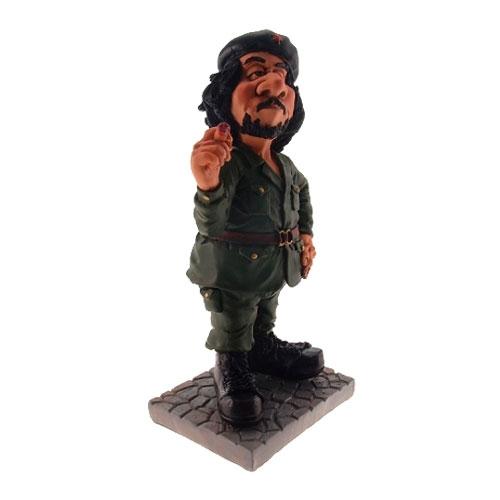 Estatueta/Caricatura Che Guevara em Resina - 19x9 cm