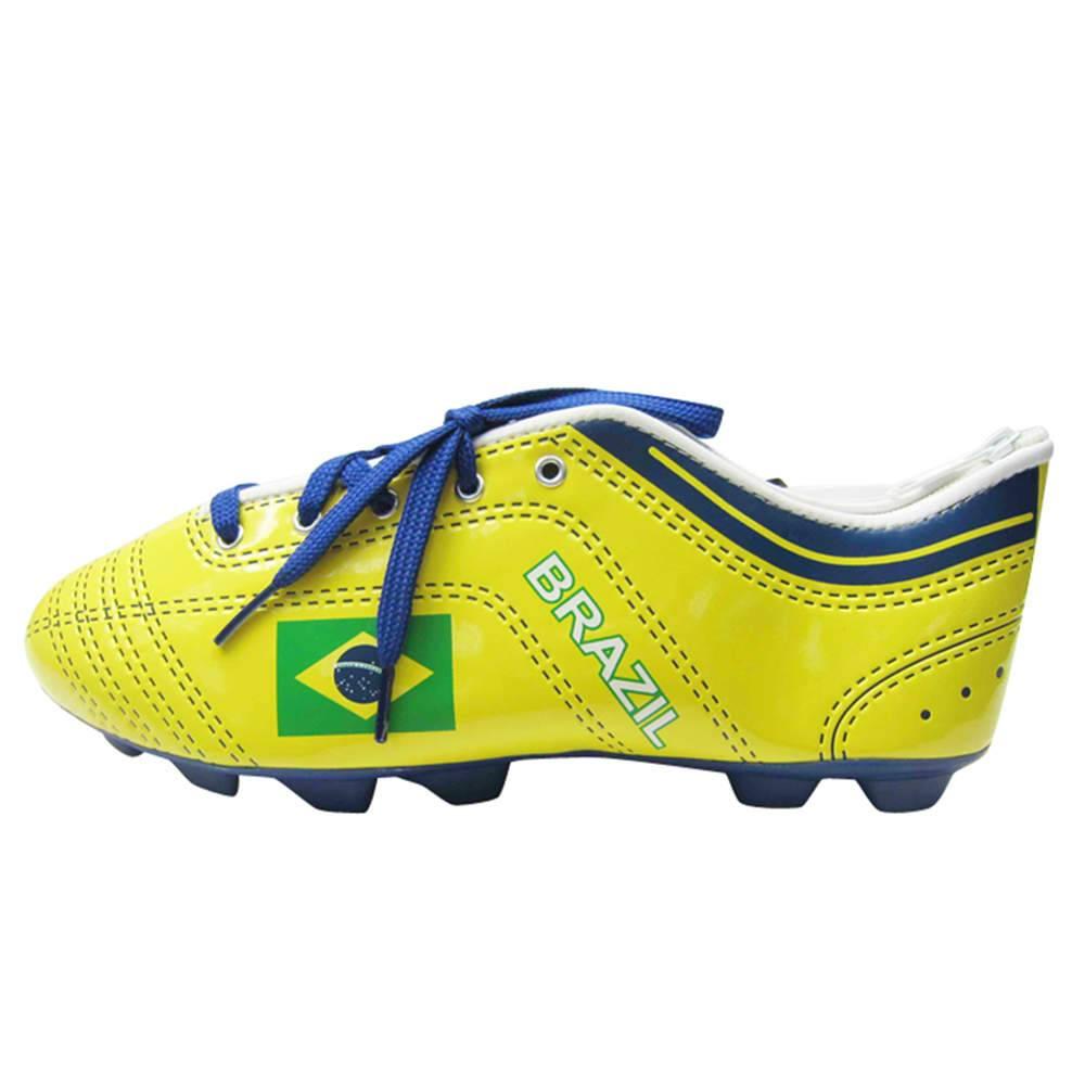 Estojo Football Boot Brasil Colorido em PU - Urban - 22,5x8