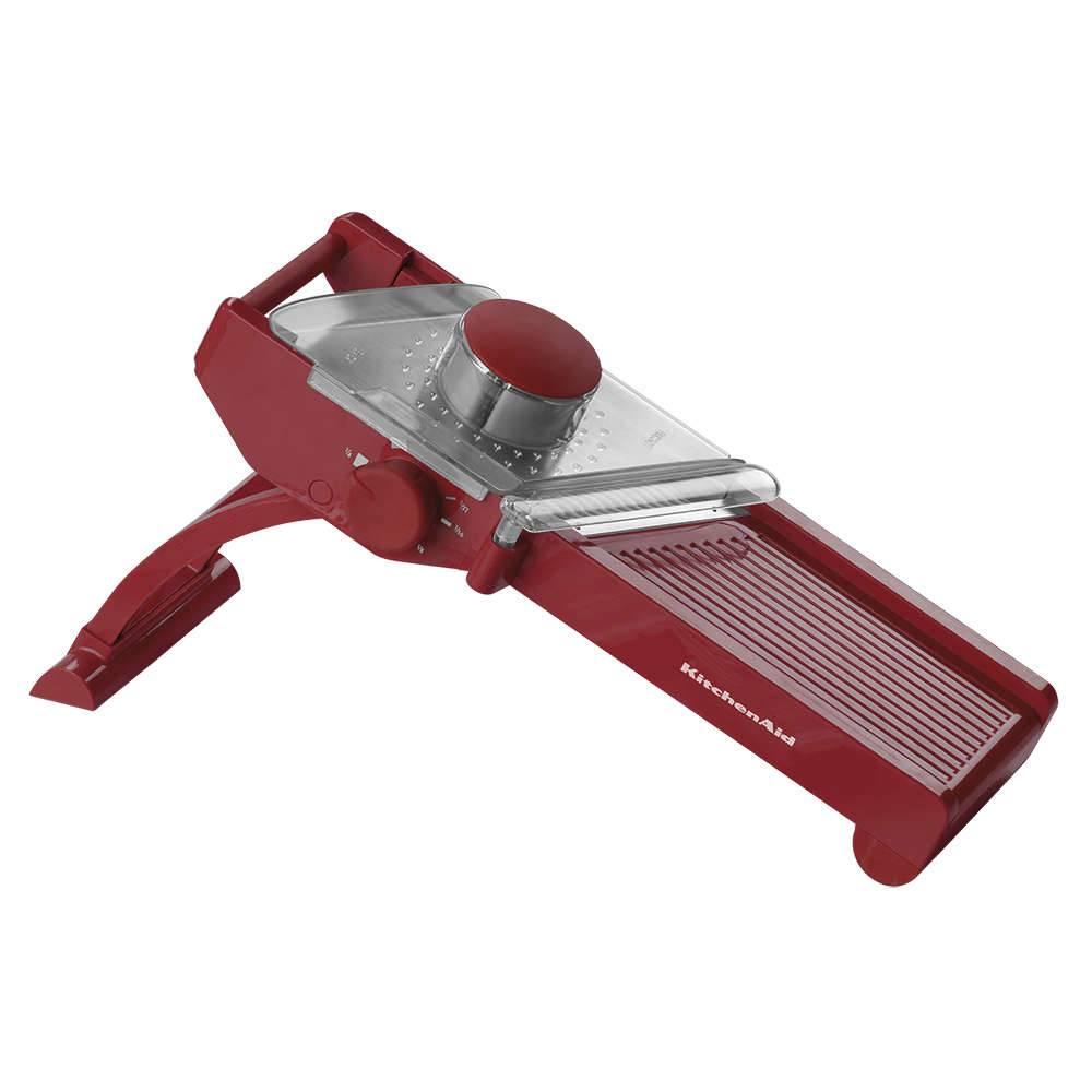 Fatiador Tipo Mandolin KitchenAid Empire Red em Aço Inox - KII90AV - 43,7x23,5 cm