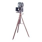 Filmadora Grande Vintage Preto Oldway - 141x82 cm
