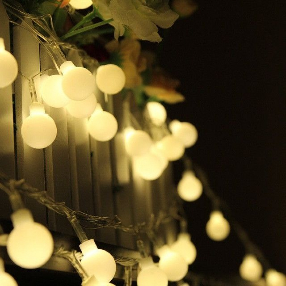 Fio de LED 20 lâmpadas à Pilha (AA)