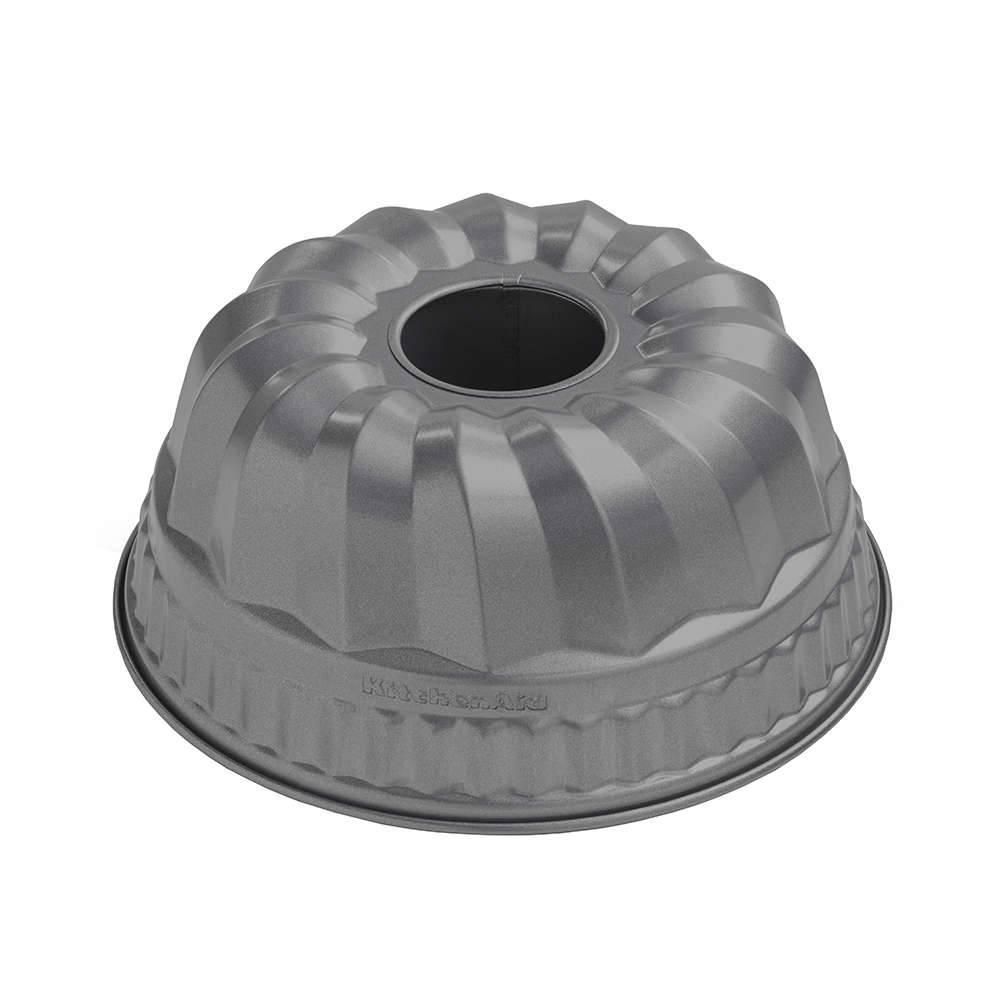 Forma para Bolo de Aço Aluminizado com Furo KitchenAid Profissional - KII78AX - 23,8x11 cm