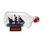 Fragata Black Pearl na Garrafa