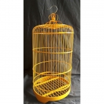 Gaiola Bamboo Amarela
