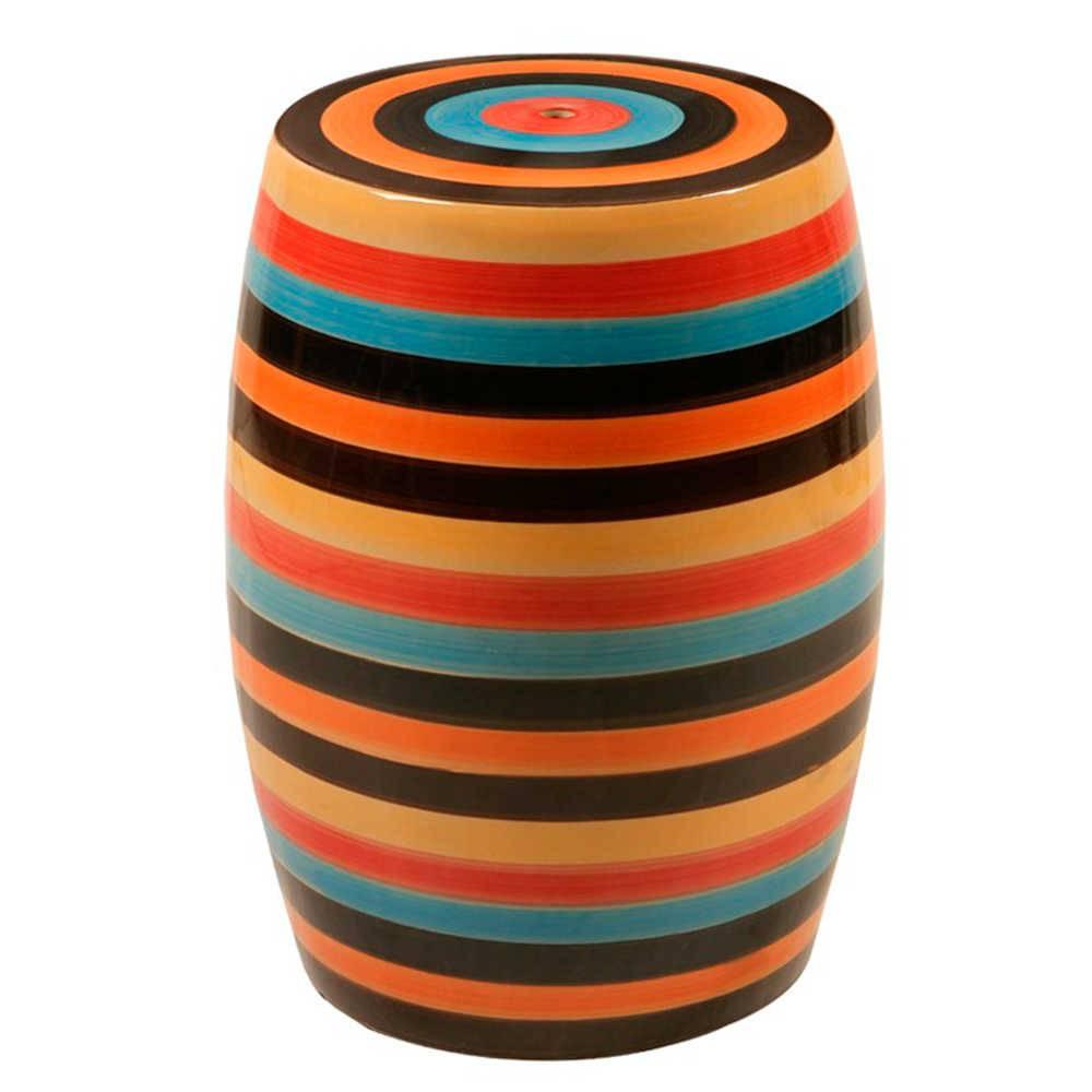 Garden Seat Colors em Porcelana - 45x33 cm