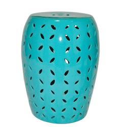 Garden Seat Petals Blue Green em Cerâmica - Urban - 44x35 cm R$ 889,80 R$ 649,80 10x de R$ 64,98 sem juros
