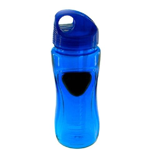 Garrafa Azul em Policarbonato - 19x6 cm