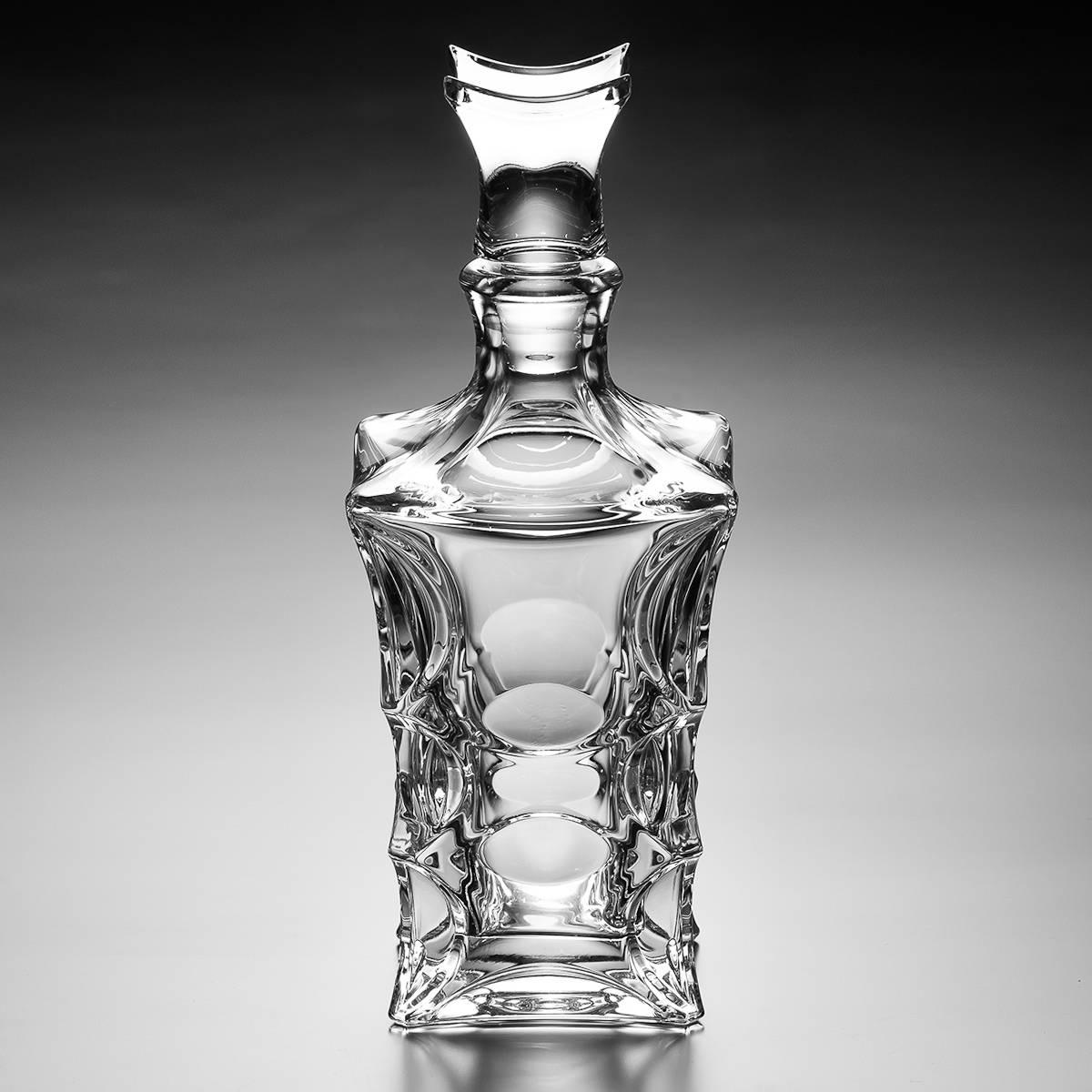 Garrafa Decorativa X-Lady - em Cristal - 700 ml - Bohemia