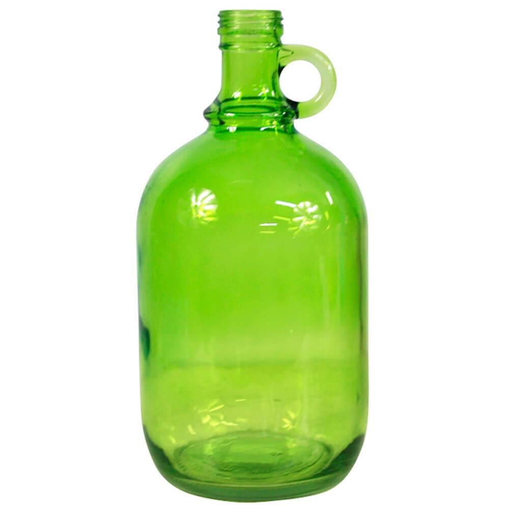 Garrafa Decorativa Wine Port Bottle Verde em Vidro - Urban - 27x13 cm