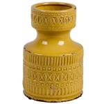 Garrafa Rústica Yellow em Cerâmica