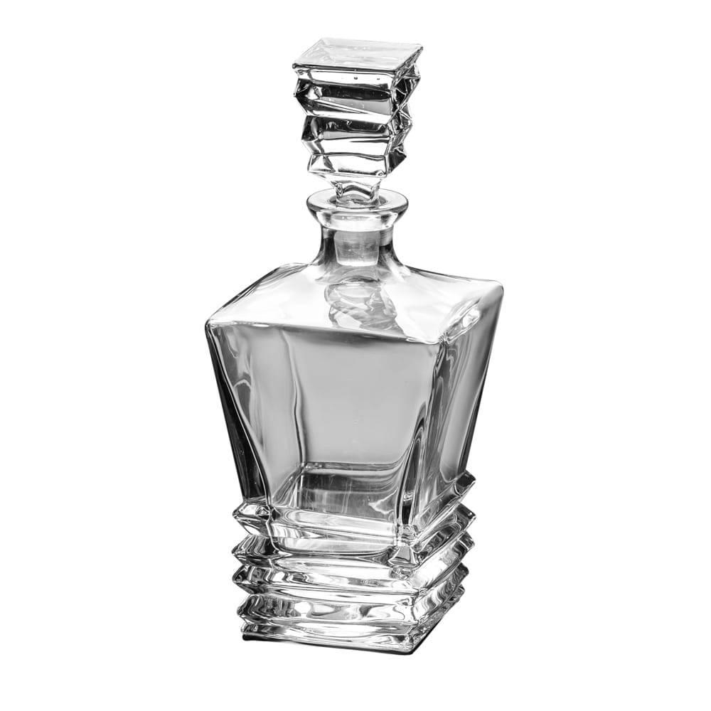 Garrafa Step para Whisky em Cristal - 820 ml - Lyor Classic