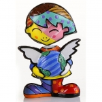 Girl Polyresin Mini School Romero Britto