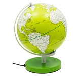 Globo Iluminado Color Verde Fullway - 30x27 cm