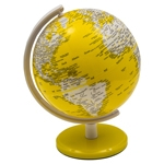 Globo Pequeno Amarelo Fullway - 17x14 cm