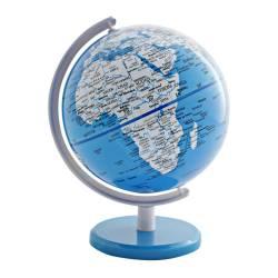 Globo Pequeno Mapa Mundi Azul em Polipropileno - Urban R$ 179,90 R$ 119,90 2x de R$ 59,95 sem juros