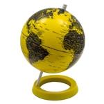Globo Polido Amarelo/Preto Fullway - 28x20 cm