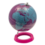 Globo Polido Blue and Pink Fullway - 28x20 cm