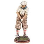 Golfista Camisa Branca Fullway
