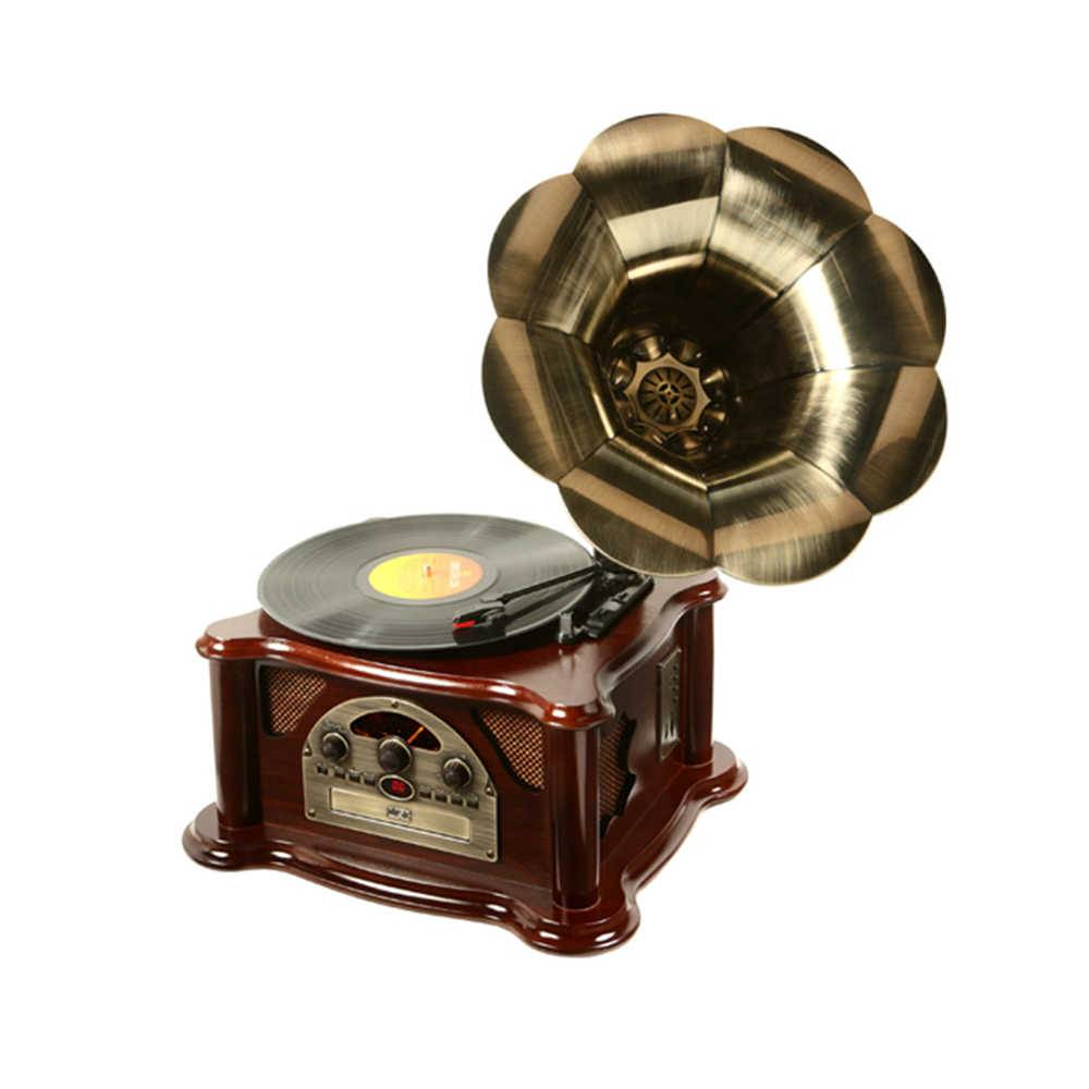 Gramophone Texas Marrom com Rádio AM/FM - 66x44 cm