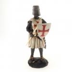 Guerreiro escudo cruz vermelha