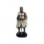 Guerreiro medieval cruz vermelha
