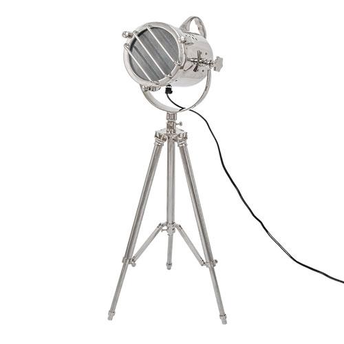 Holofote England com Tripé - Ferro - 62,5x23 cm