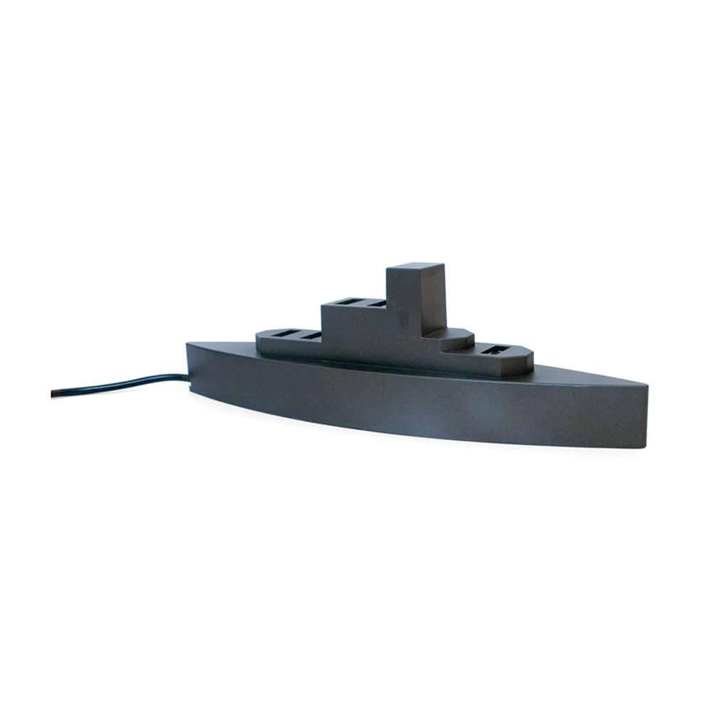 Hub para Computador Battleship com 5 Portas - Urban - 18x5 cm