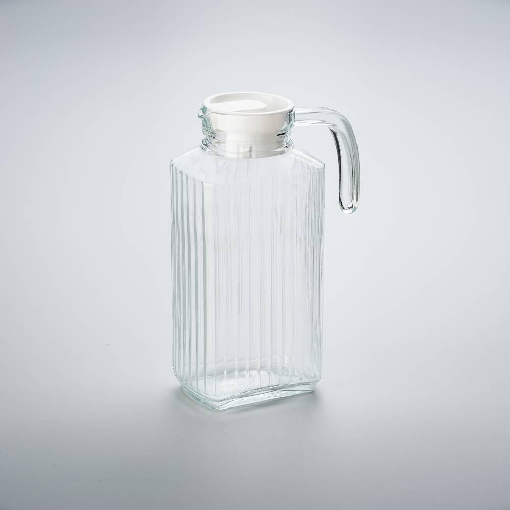 Jarra para Água com Tampa Bony - 1,8 Litros - em Vidro - Bon Gourmet