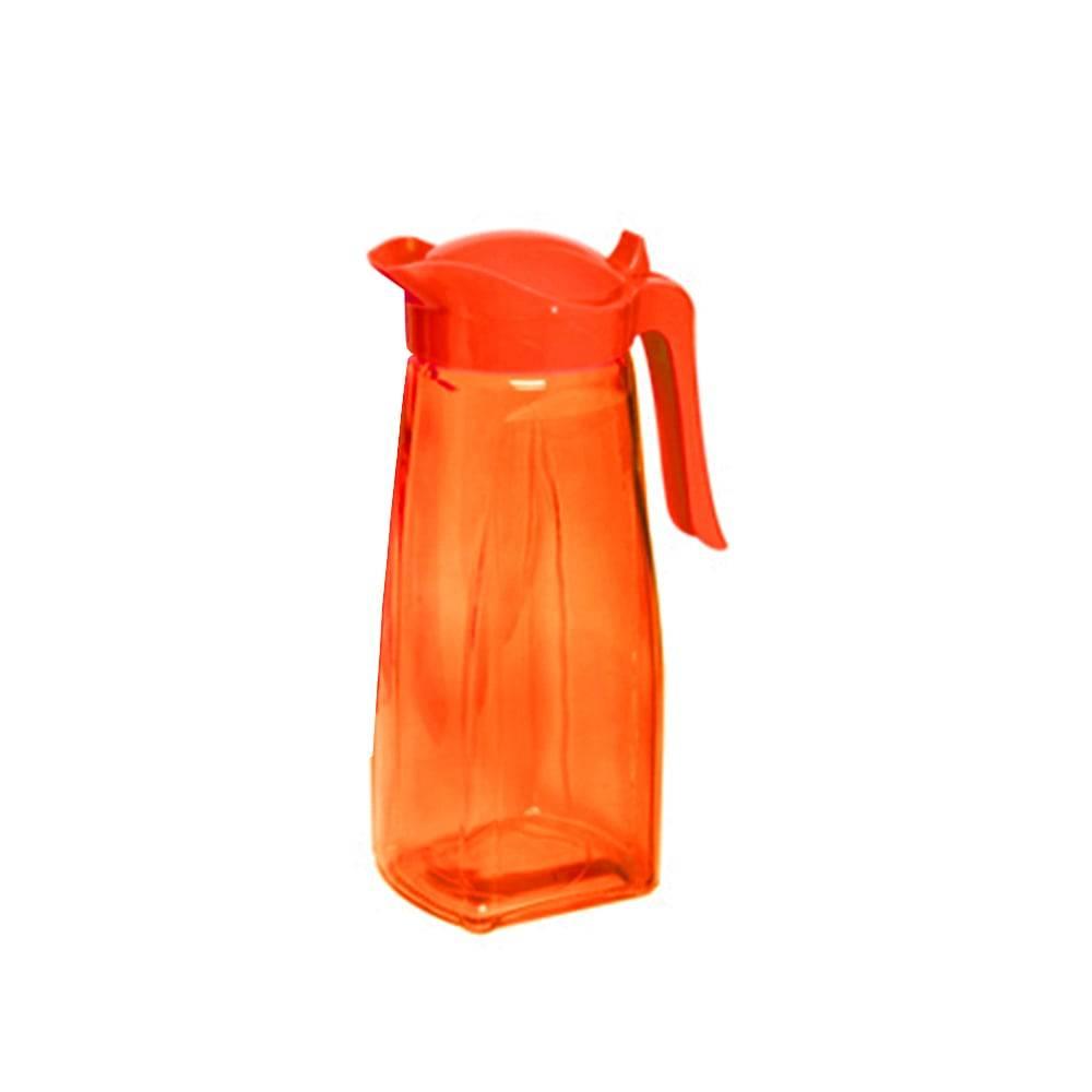 Jarra Conic em Vidro Laranja - 1,5 Litros - Lyor Design