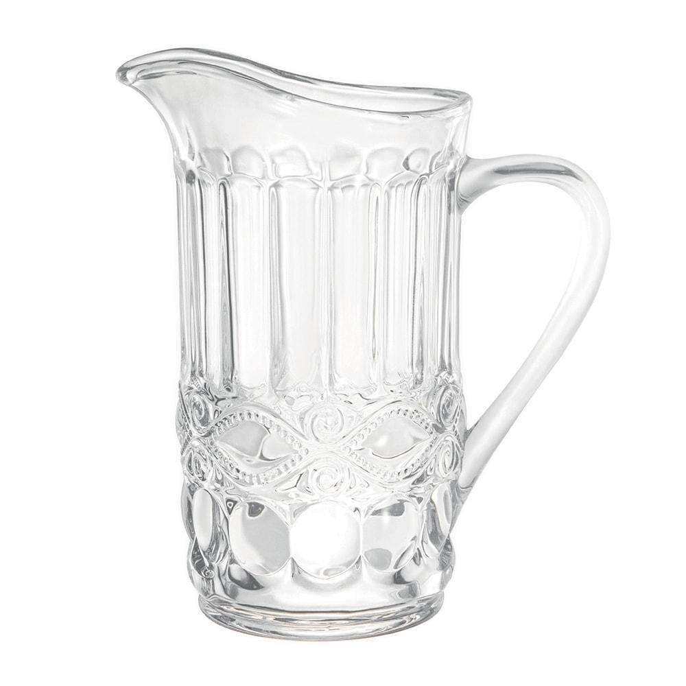 Jarra Cristal Alta com Capacidade para 1,15 L em Vidro - 22x20 cm
