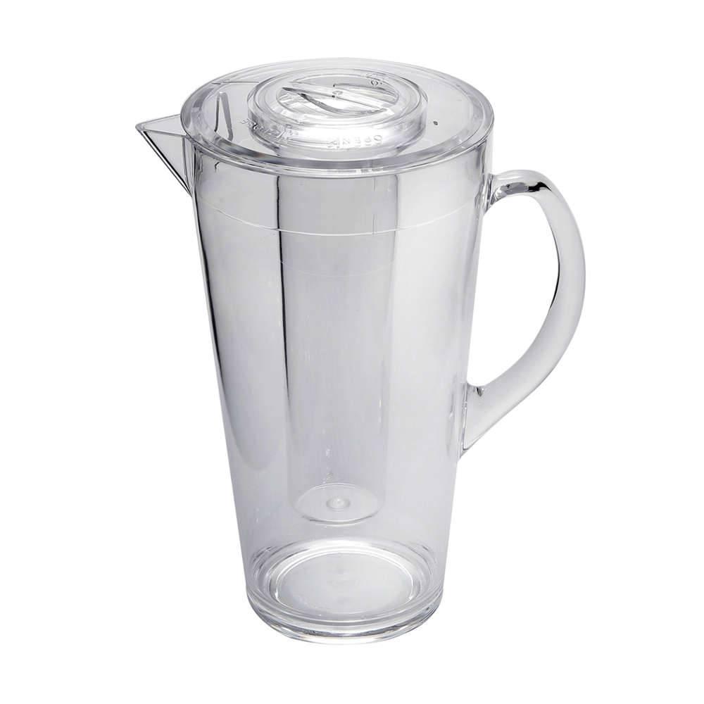 Jarra com Geleira Transparente - 1680 ml - em Acrílico - Bon Gourmet