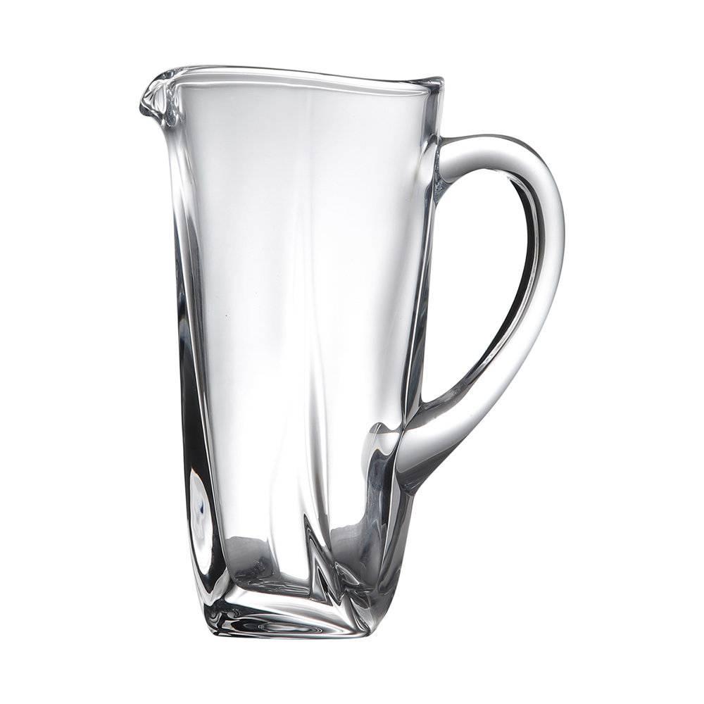 Jarra Quadrada em Cristal - 1,1 Litros - Bohemia Crystalite