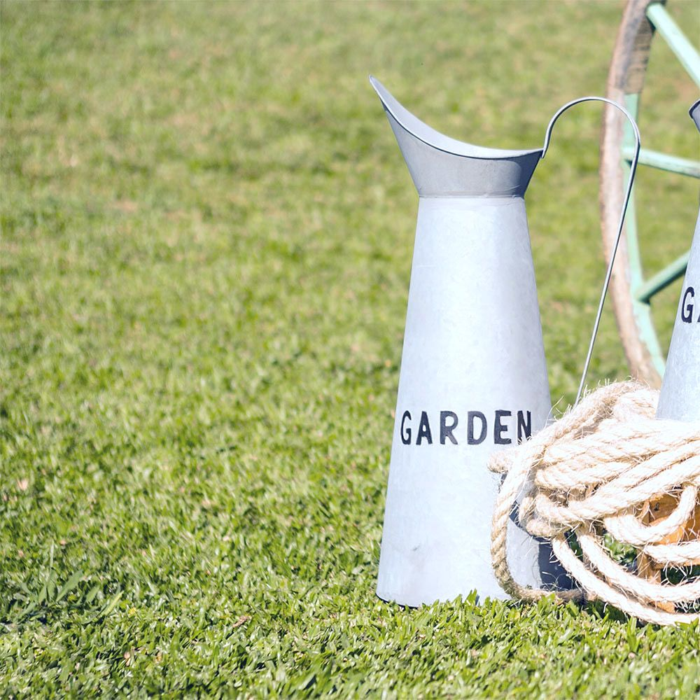 Jarro Garden Grande em Metal Greenway - 60x22 cm