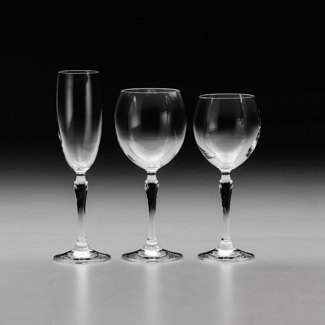 Conjunto de Taças Lucia - 18 Peças - em Cristal - Rona