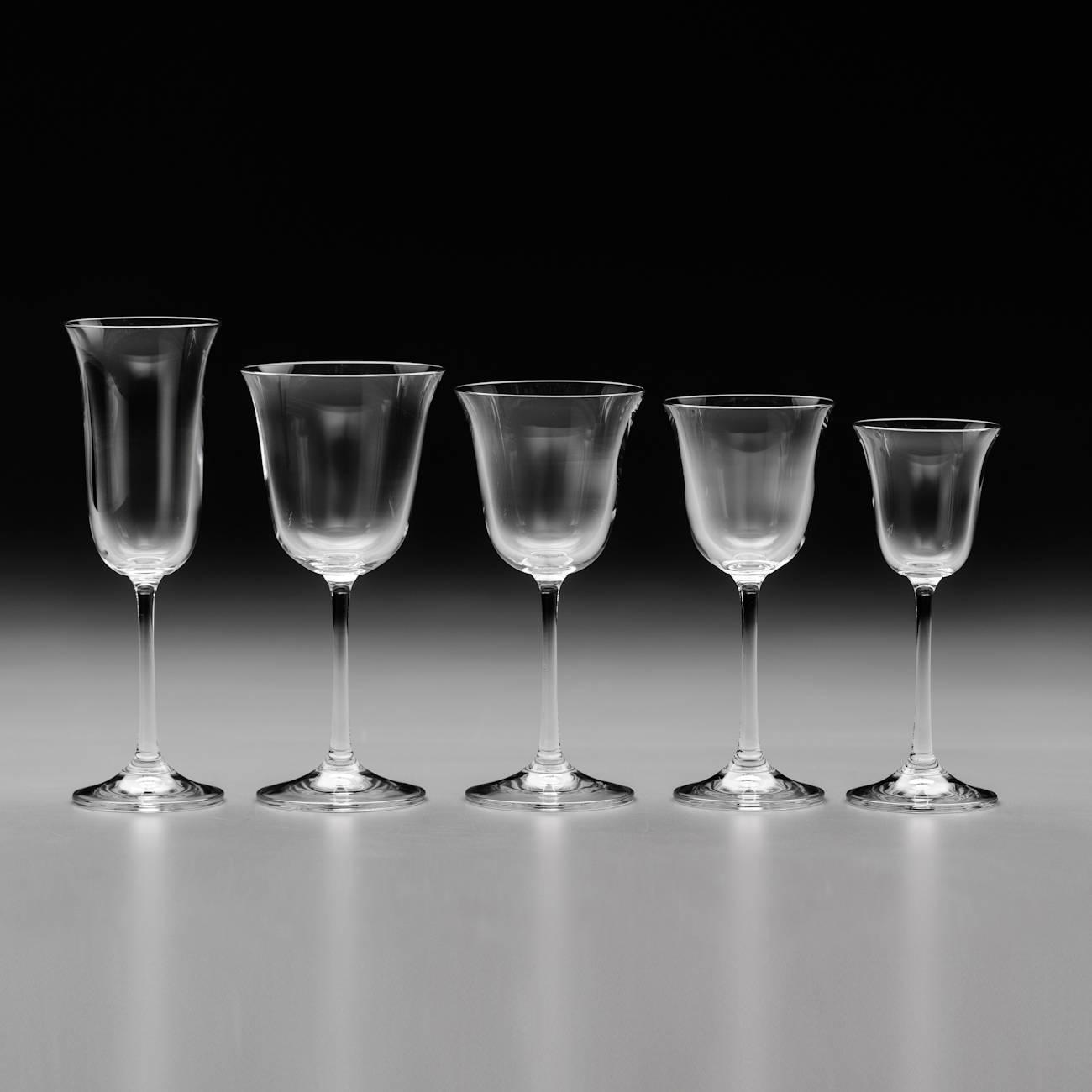 Conjunto de Taças Bell - 30 Peças - em Cristal - Bohemia
